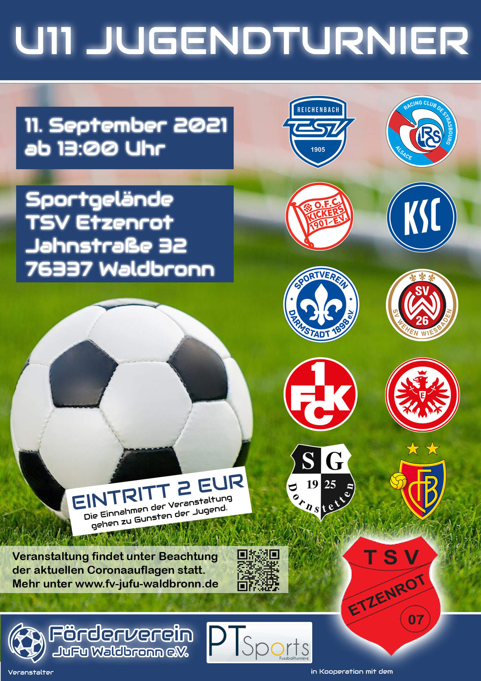 Plakat U11 Jugendtunier